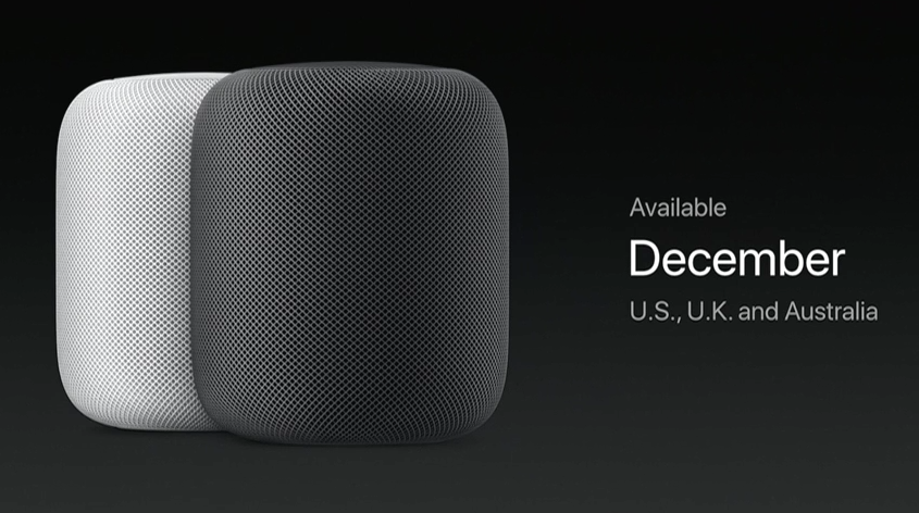 Apple Reveals 'HomePod' Smart Speaker local records office homepod