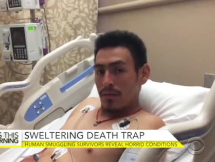 ICE Agents Rush Into Hospital Room of San Antonio's Overheating Trailer Immigrant Victim Who is in Critical Condition to Deport Him & His Father