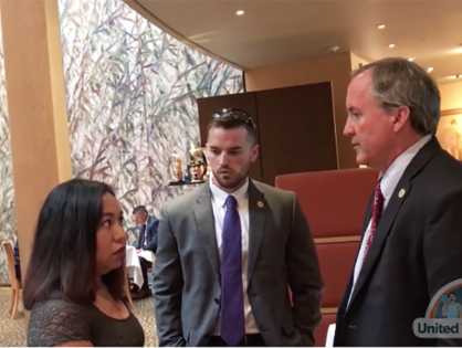 Watch as a DACA Recipient Confronts Texas's Attorney General Over His Effort to End the Program (VIDEO)