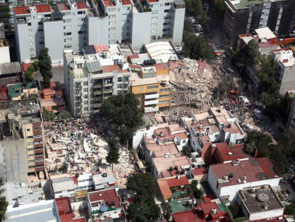 Death Tolls Keep Rising in Mexico Earthquake as Rescue Groups Continue Searching (VIDEO)