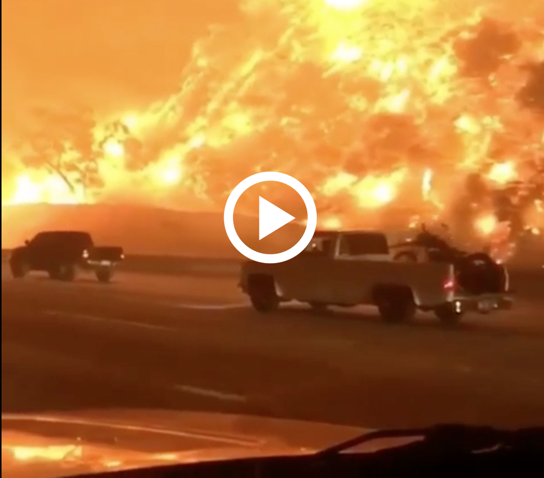 Huge Southern California Fire Spreads Over 2,000 Acres in Anaheim and Corona (VIDEO)