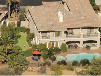 O.J. Simpson is Living Large in a Massive House in a Las Vegas Gated Community