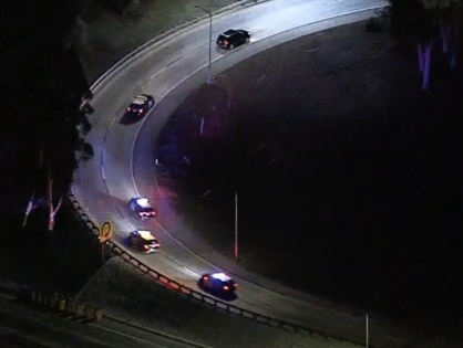 High-Speed Chase from Orange County Ends in Downtown Los Angeles (VIDEO)