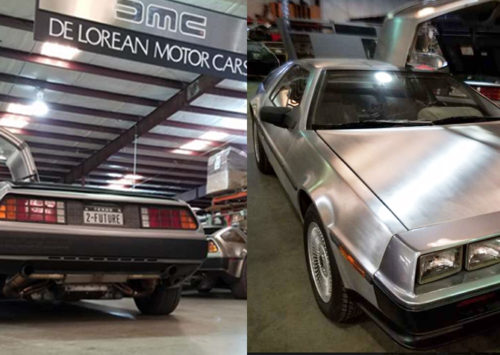 "Back to the Future car the ""DeLorean"" will possibly start production soon in Houston area"