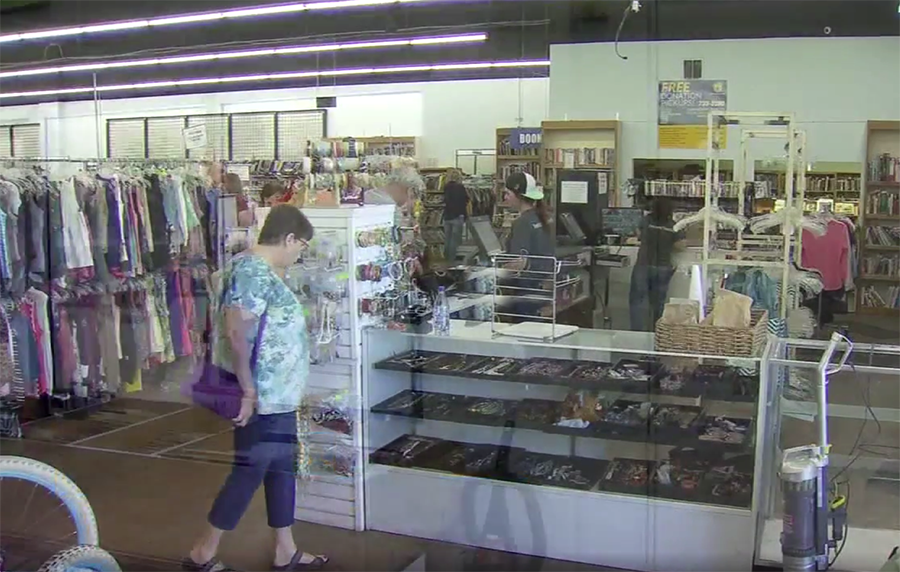 Fresno felon arrested after breaking into non-profit thrift store (VIDEO)