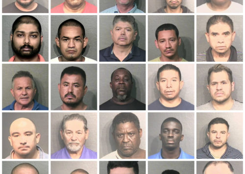 Houston Police Vice Division Arrest 70 On Sex Trafficking Charges