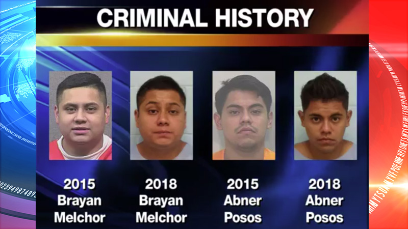 2 Suspects accused in La Plaza Mall attempted robbery have a long criminal history