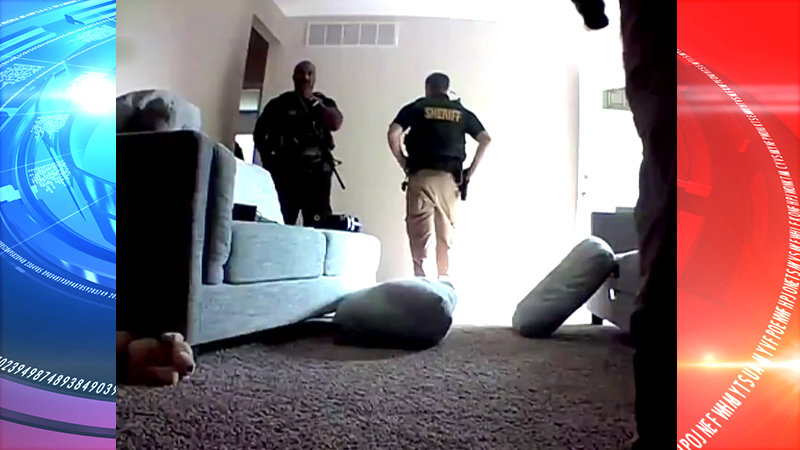 Law enforcement enters Wichita homeowners home and disables security camera (VIDEO)