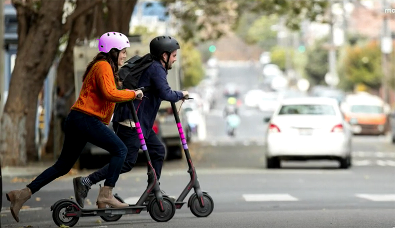 Lyft Unleashes Its Own Fleet Of Scooters To The Austin Mix (VIDEO)